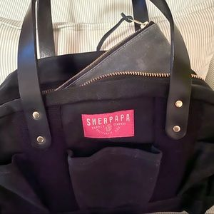 Sherpapa REV Diaper Bag Black